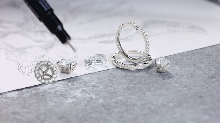 Custom Engagement Ring Jewelry Design