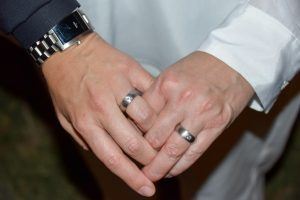 Wedding Rings Bands Diamond Accents