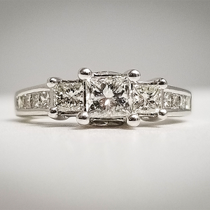 past present future engagement rings