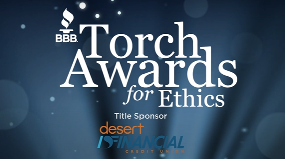 2020 BBB Torch Award for Ethics Cover Photo