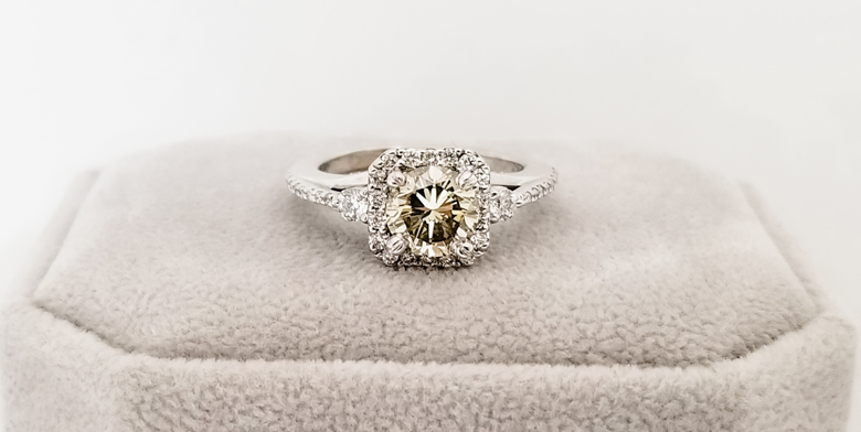 vintage engagement rings are a popular trend