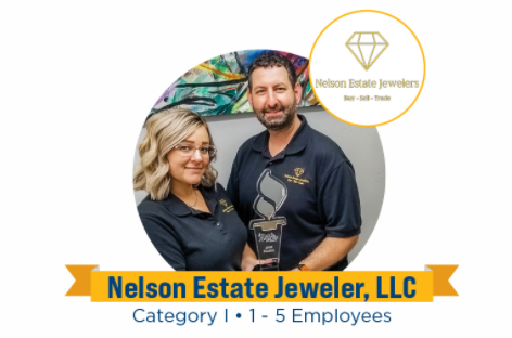 Nelson Estate Jewelers wins 2020 BBB Torch Awards for Ethics